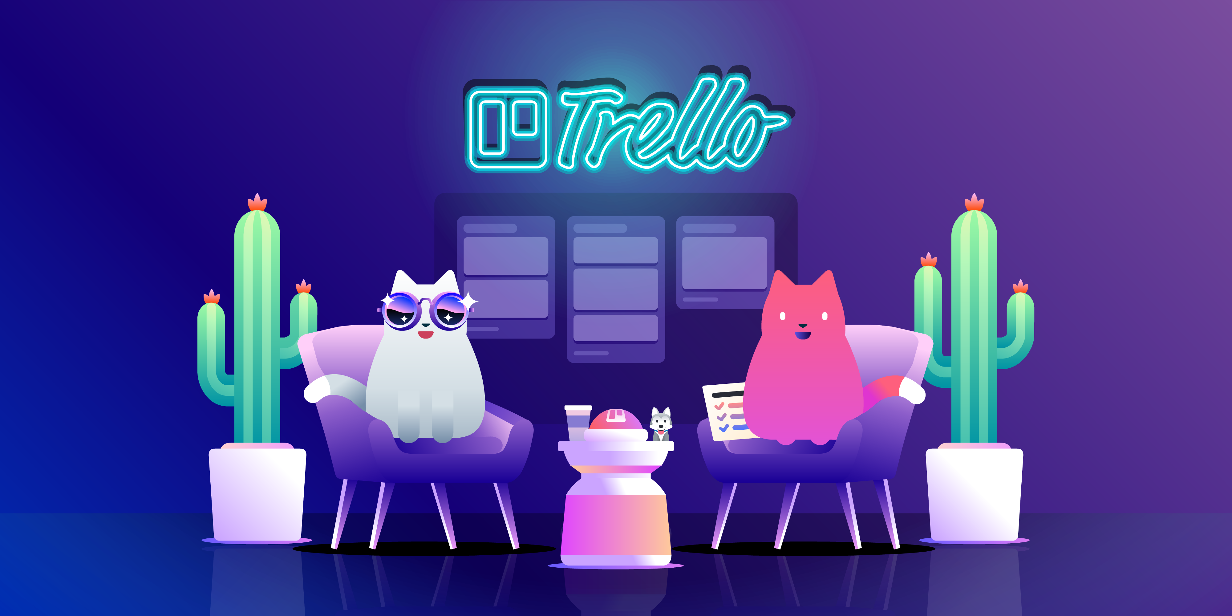 Verwendung von Trello bei One-on-One-Meetings
