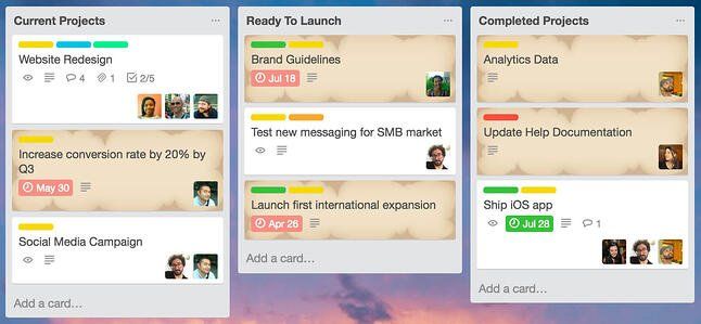 Trello Card Aging Power-Up