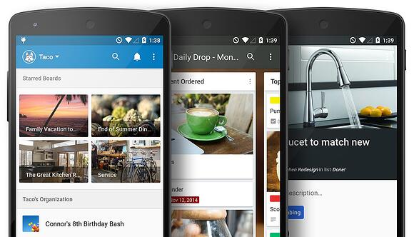 Trello for Android: Materialized.