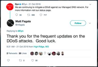 DYN Status page