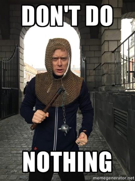 Don't Do Nothing: Trello anti social loafing slogan