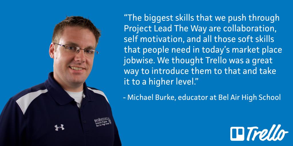 Michael Burke Quote