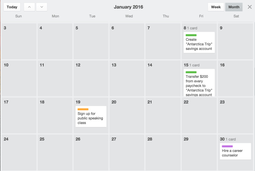 CalendarPower-Up