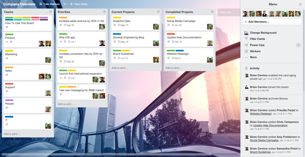 The Big 6: Essential Trello Boards For Every Business