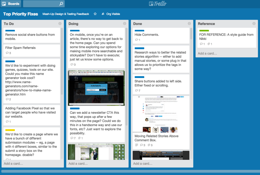 Mash-Up Trello Board - USE THIS ONE