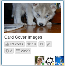 Trello card cover images