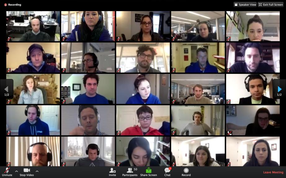 Zoom Trello Meeting