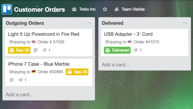 Track Shipments: Uses for Trello Custom Fields