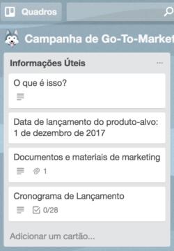 lista de go-to-market