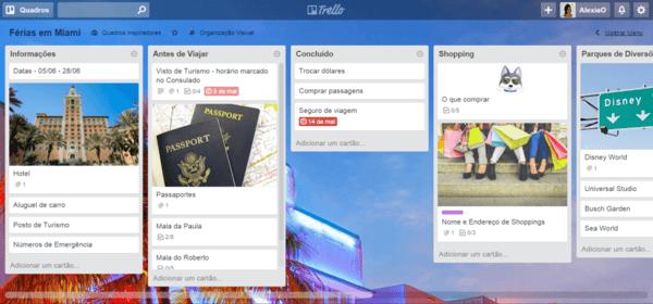 Criar roteiro de viagem online