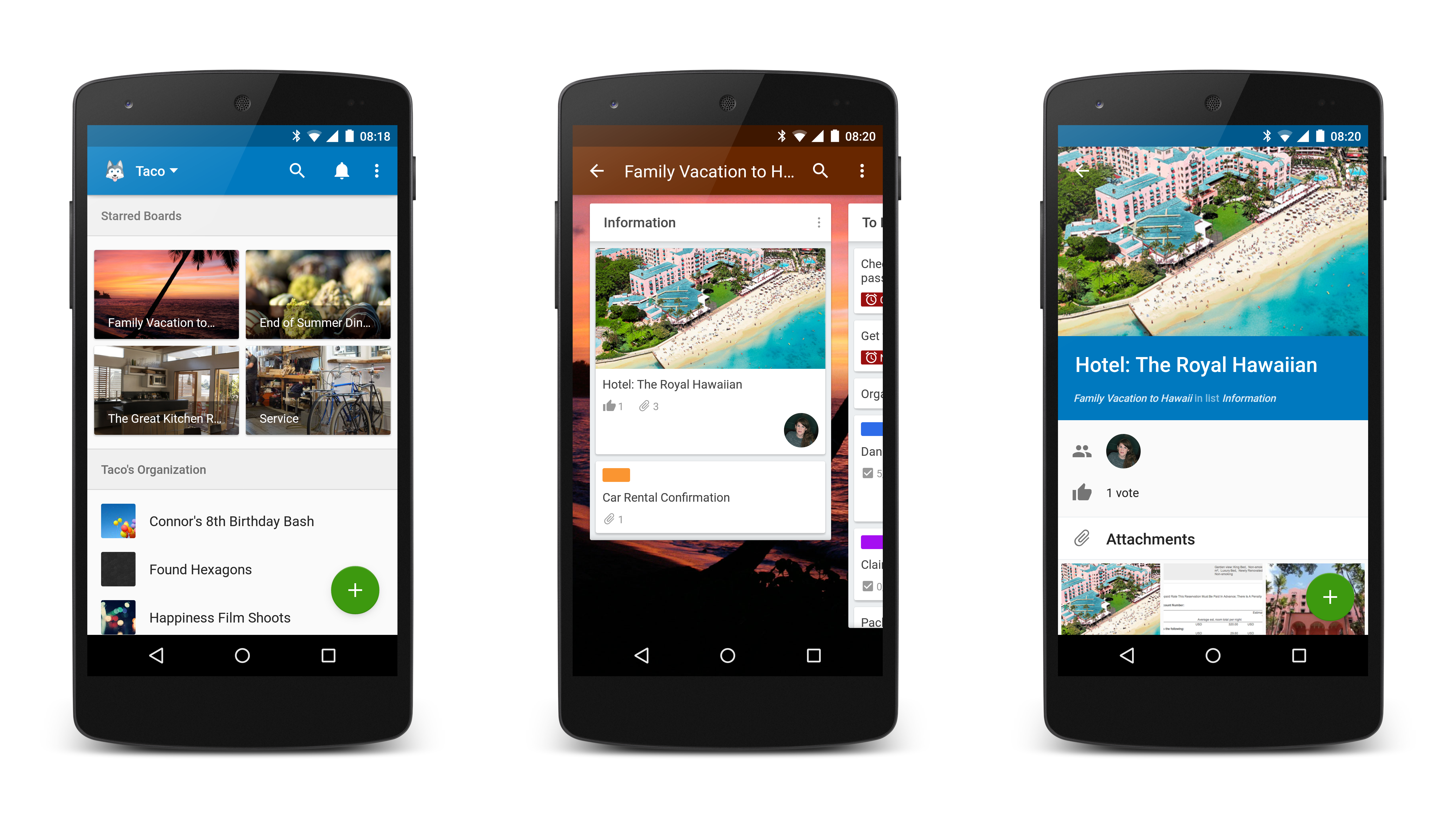 Trello For Android Now With 100 More Material Trello