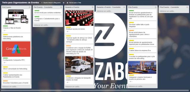 Quadro para Organizadores de Eventos
