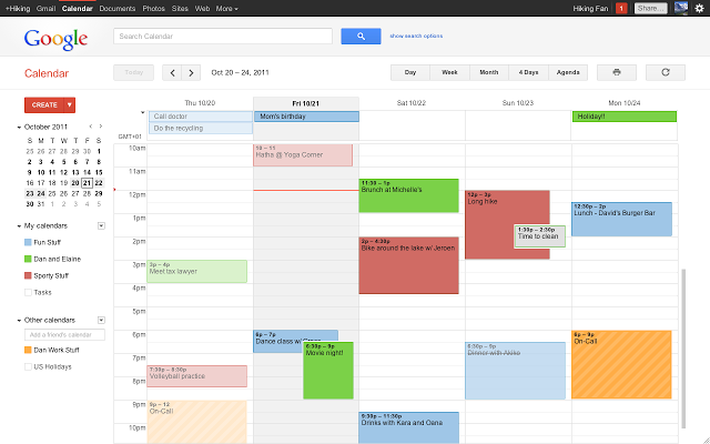 Google Calendar: Calendar apps replace Sunrise