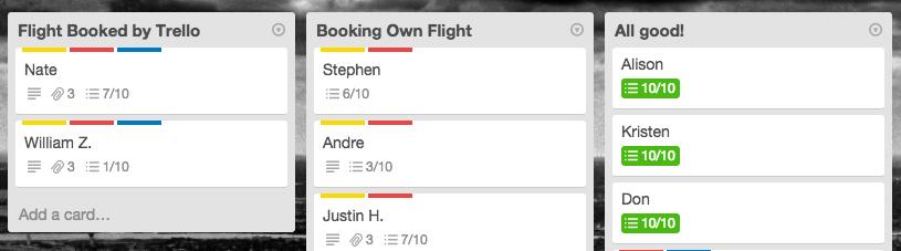 Flight Lists