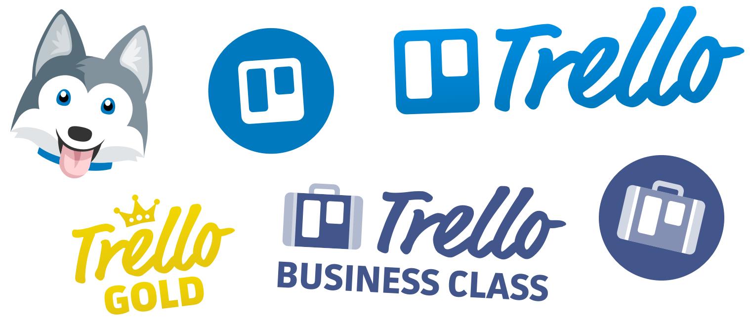 Trello logos and mascots