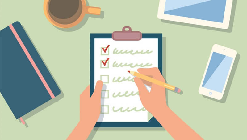 Checklist psicologia