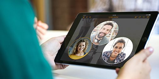 software de video conferência