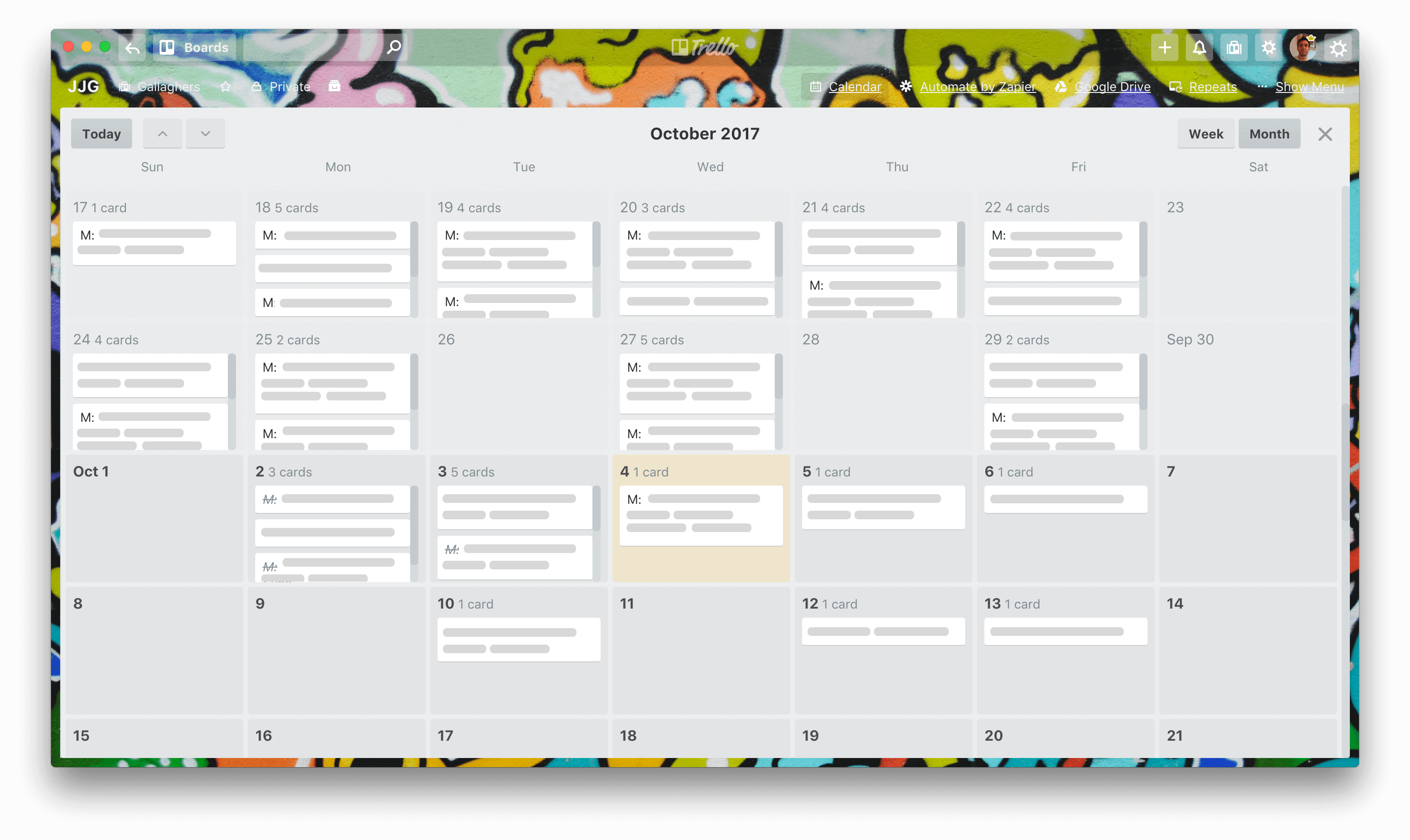 Trello Calendar View For Personal Productivity