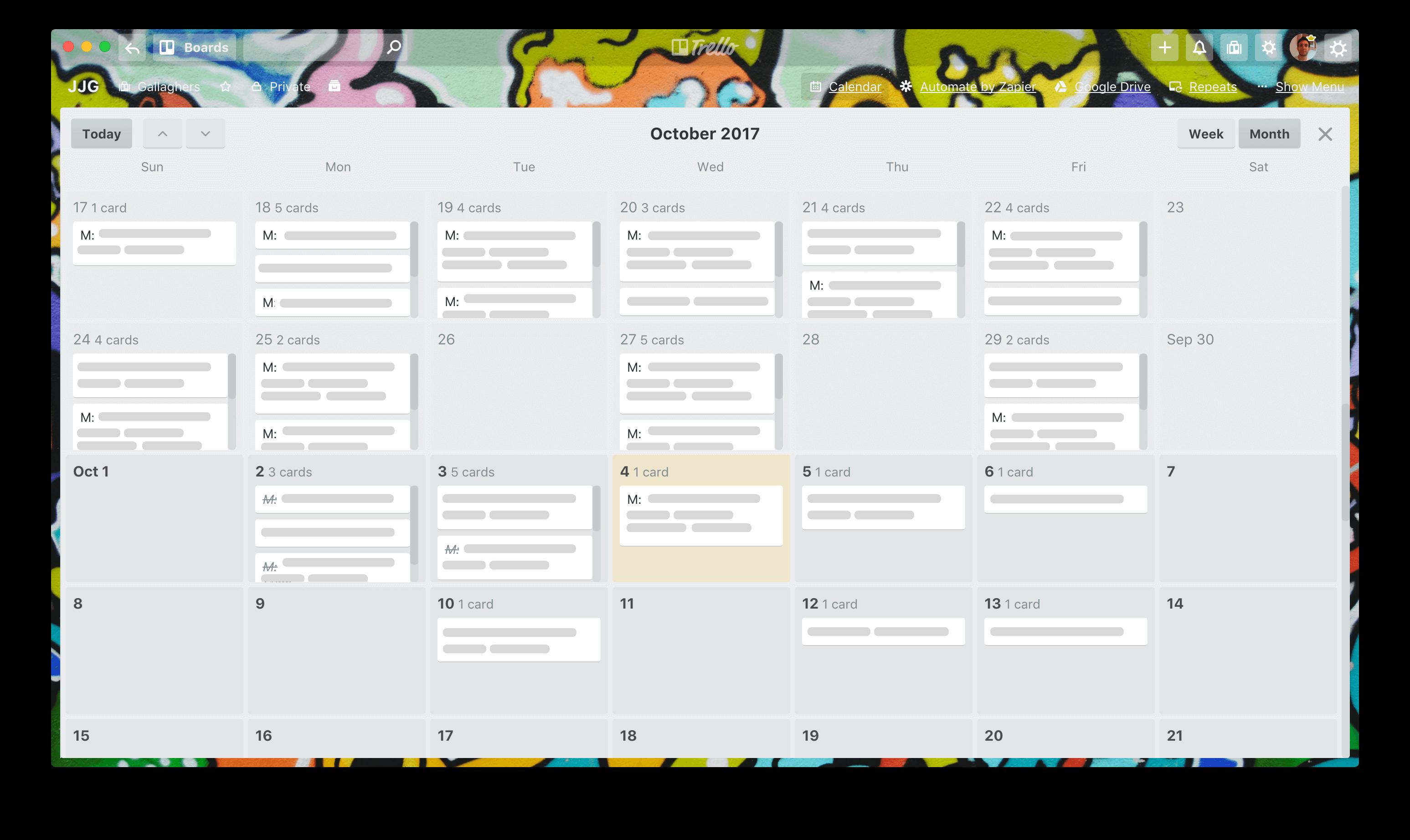 Trello Calendar View For Personal Productivity