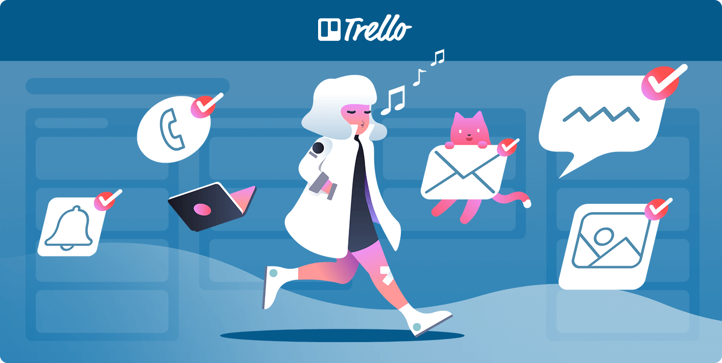 Personal productivity boards for Trello