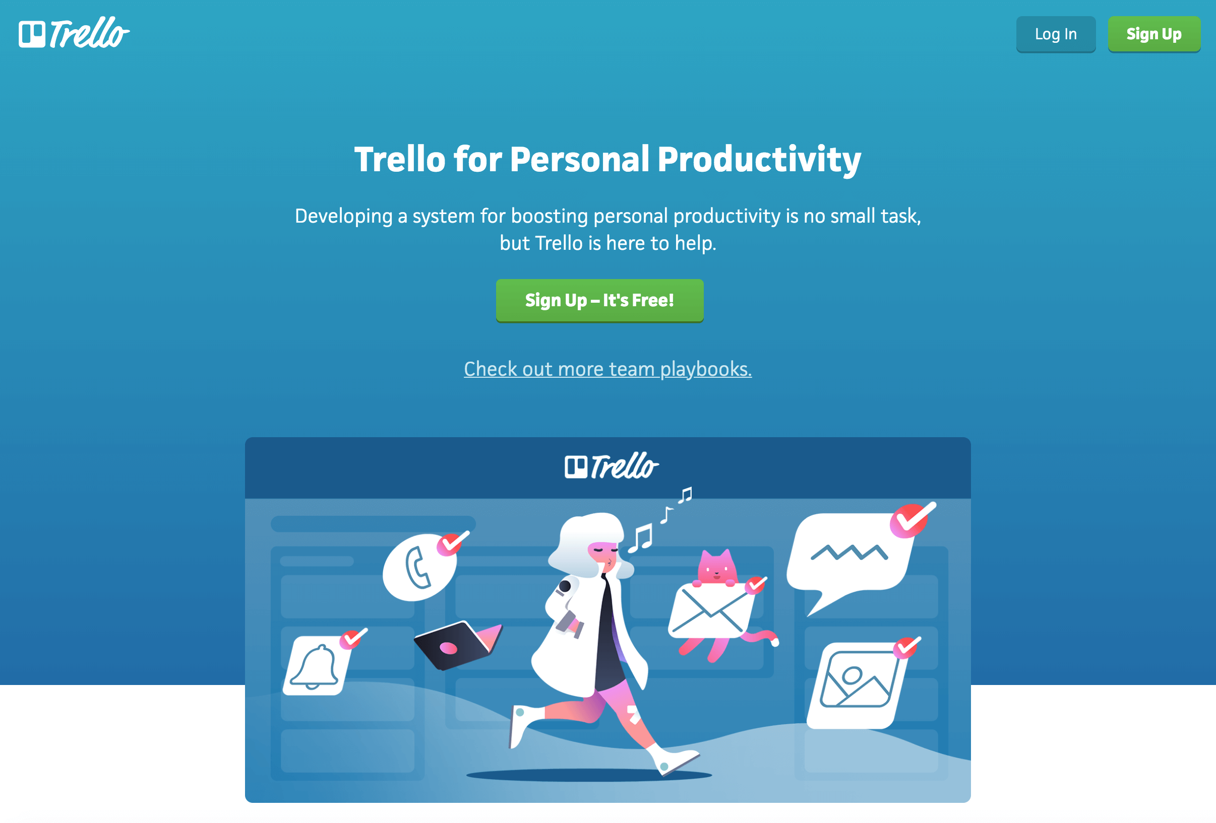 trello sign up
