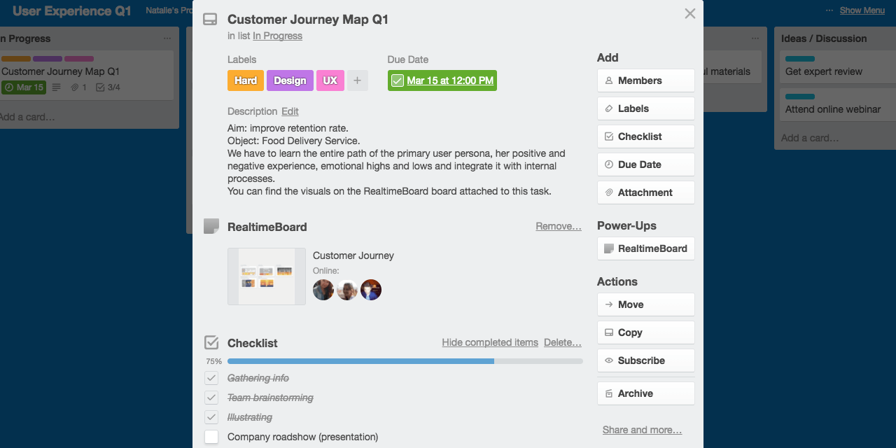 Realtime Board Trello Power-Up
