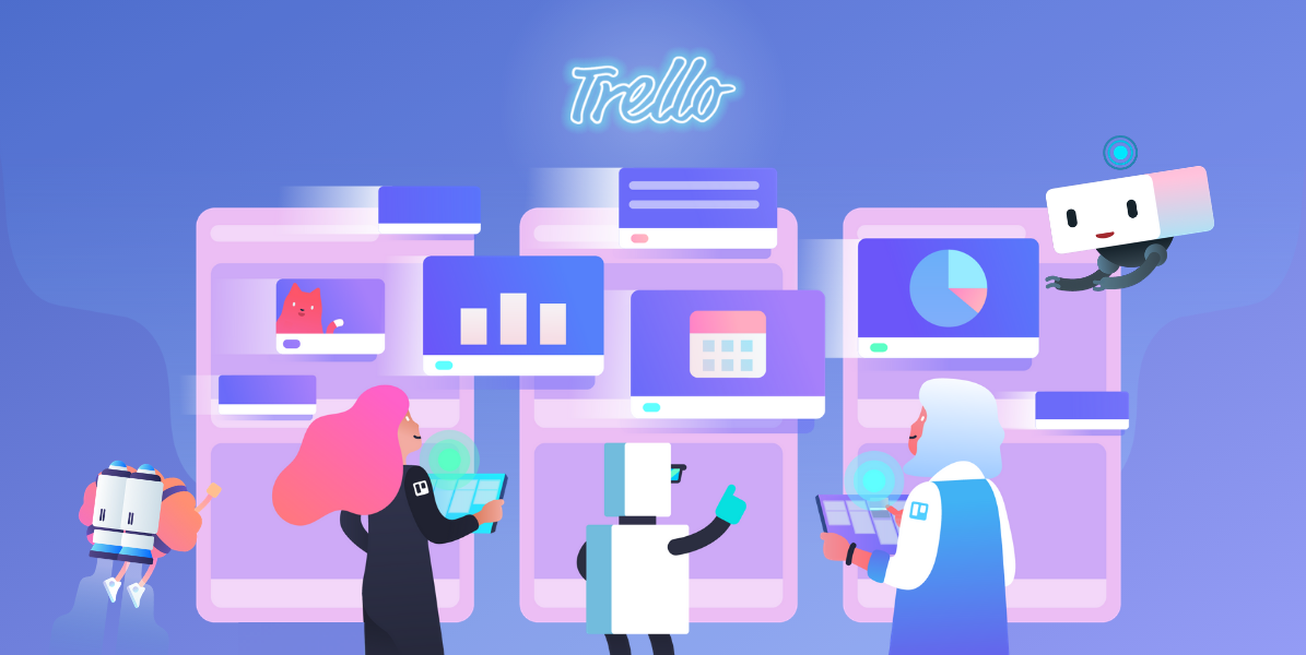 Image of Trello team using Trello
