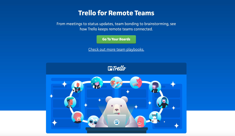 Trello Templates for Remote Teams