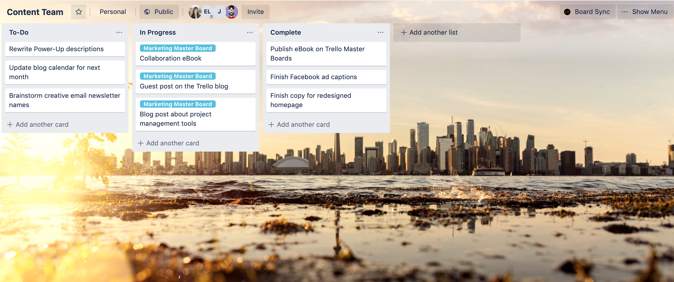 trello master board example
