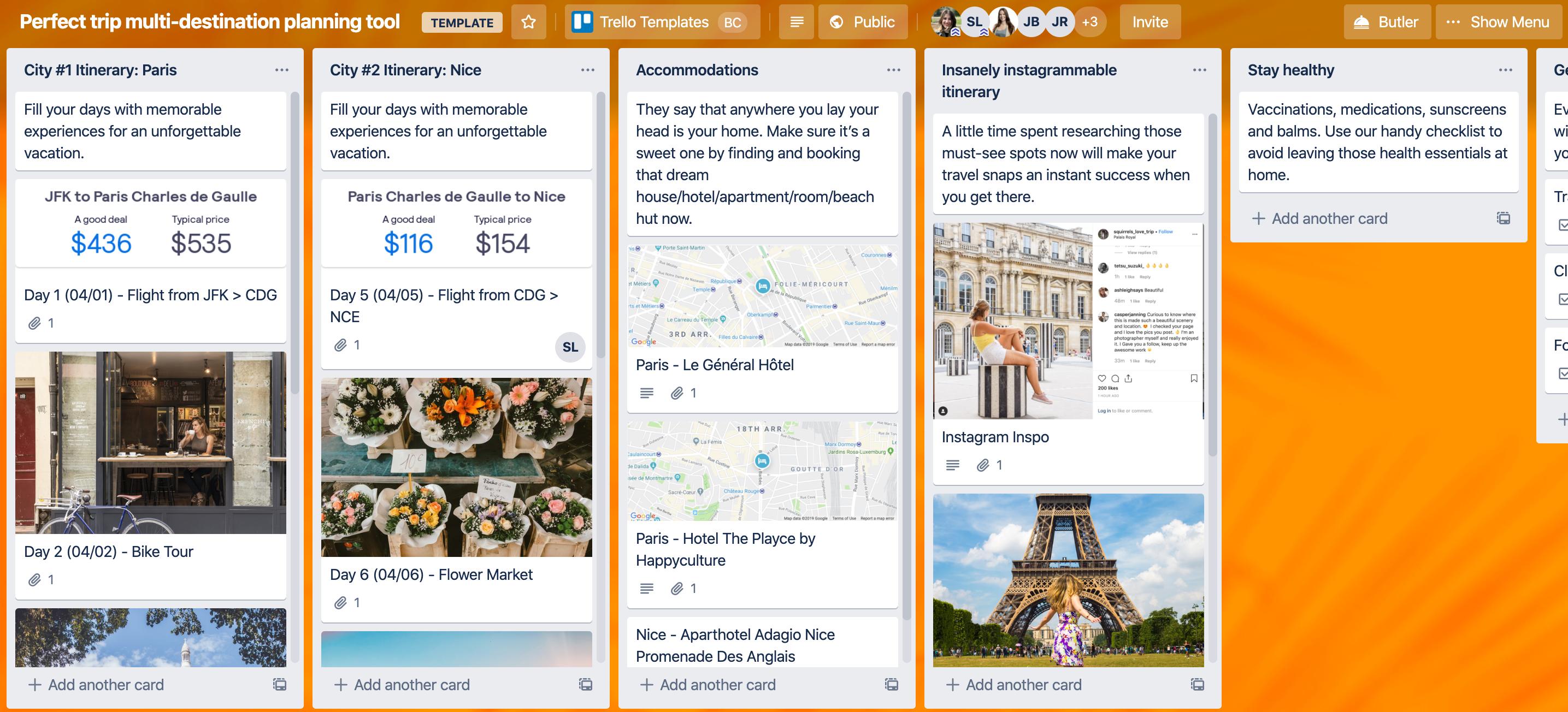 Skyscanner - multi-destination planning planning tool