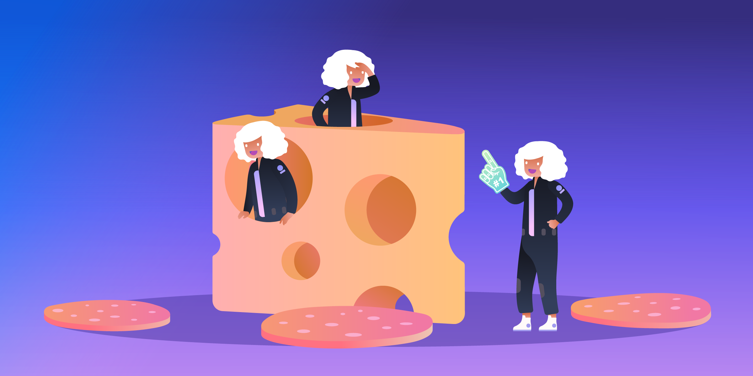 how to use the swiss cheese and salami methods to be more productive