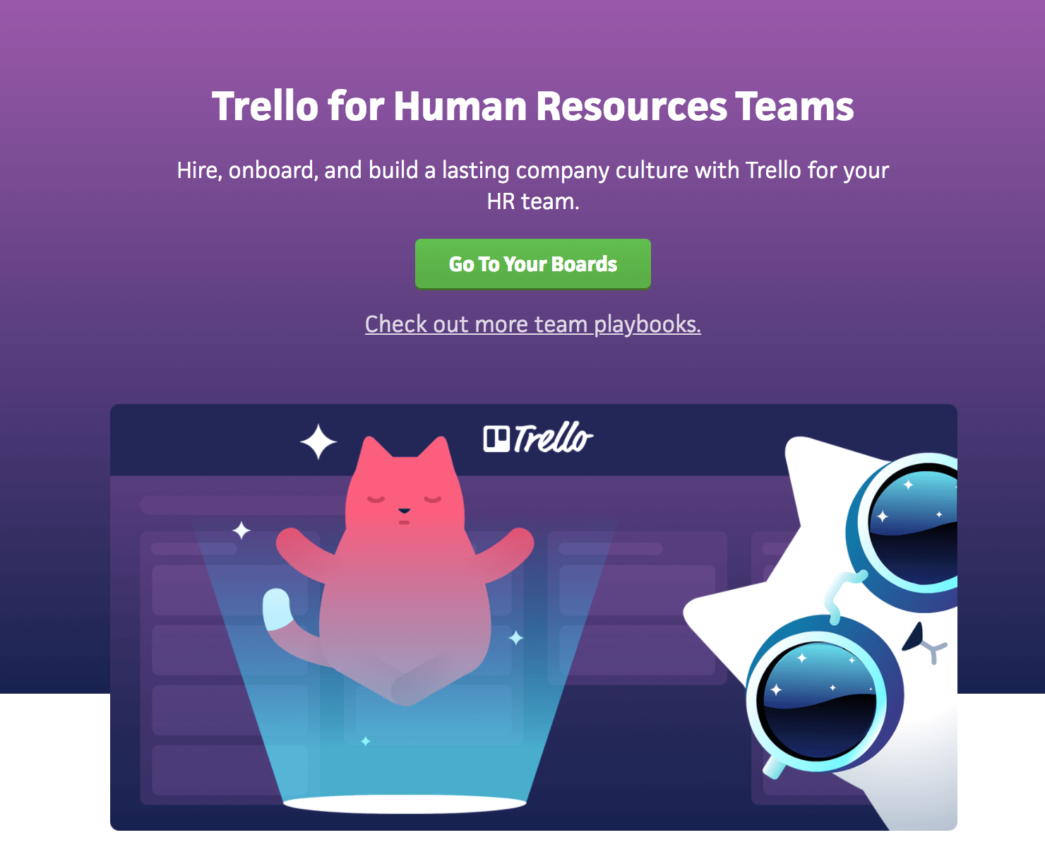 Trello for HR teams