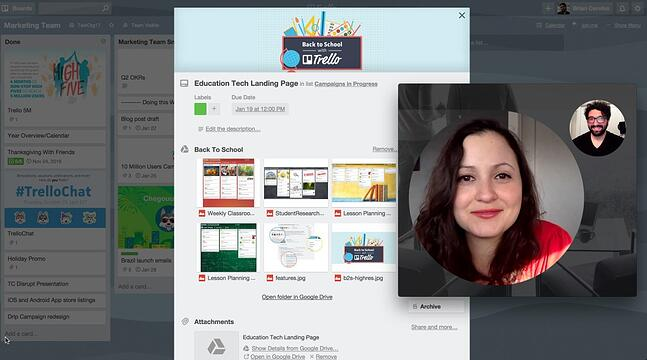 join.me Power-Up for Trello video conferencing app