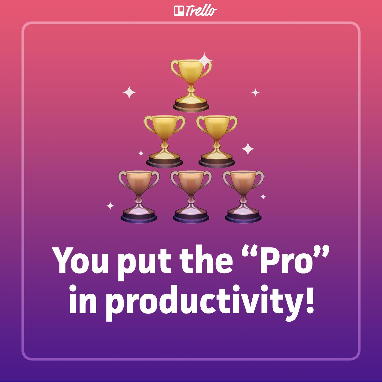 Productivity valentine