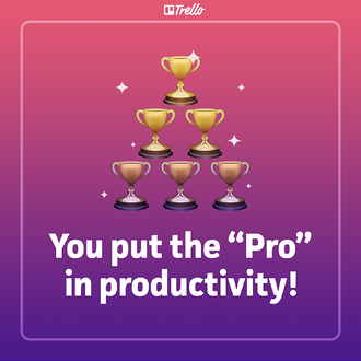 Productivity valentine