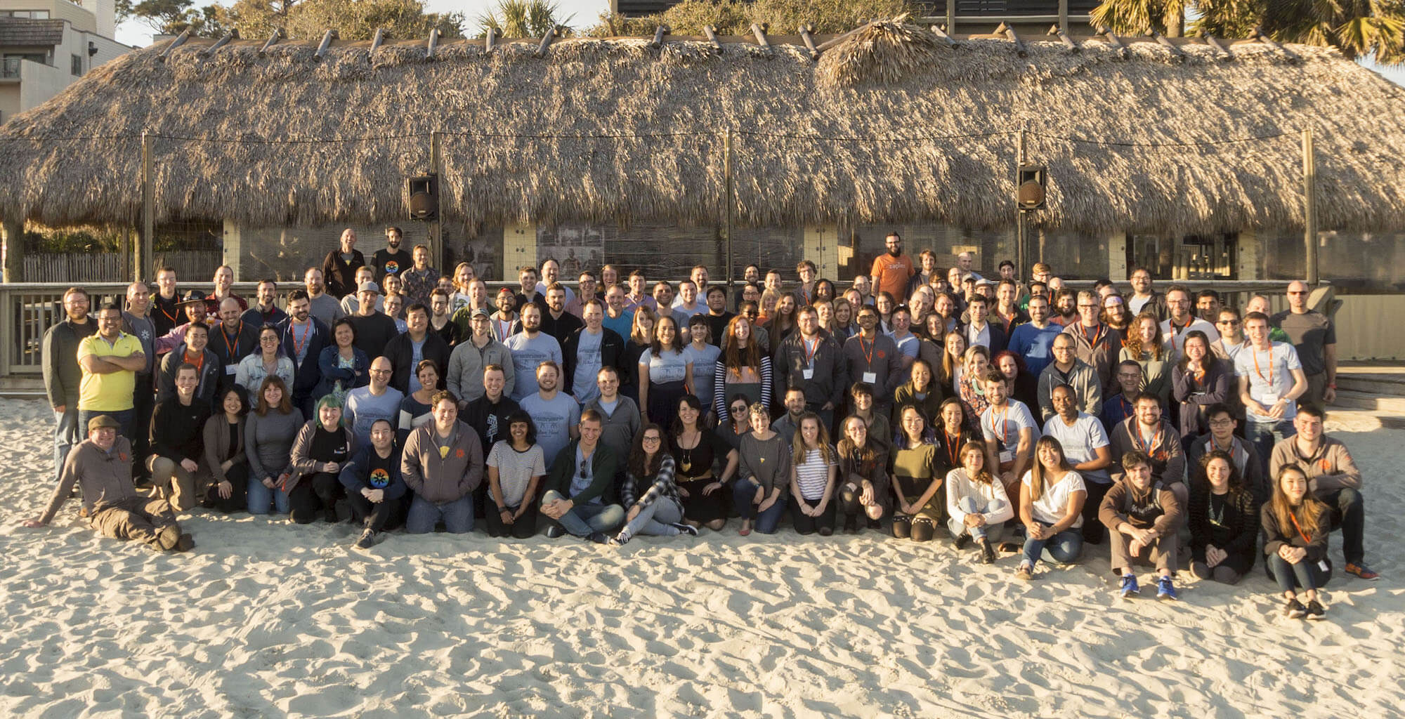 The Zapier team together at last, at our winter retreat.
