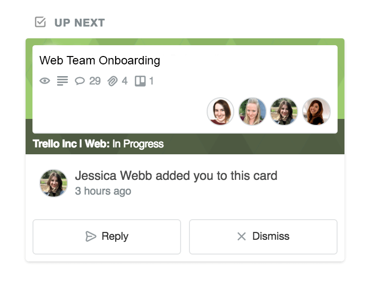 Trello Home: See when added as card member