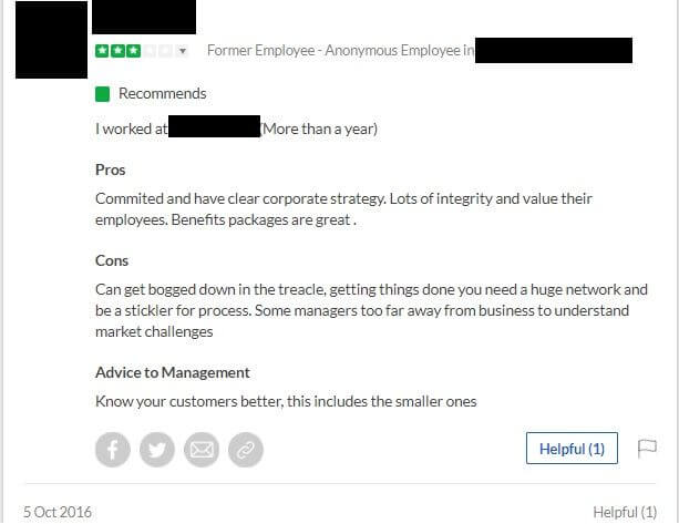 Glassdoor review of micromanaging boss