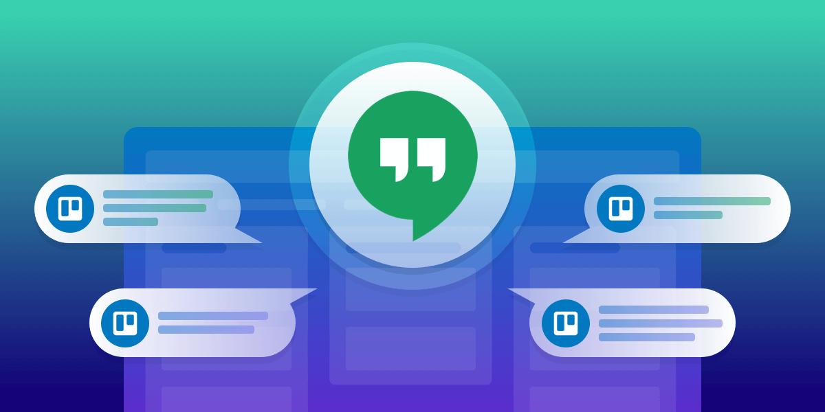 Trello for Google Hangouts Chat
