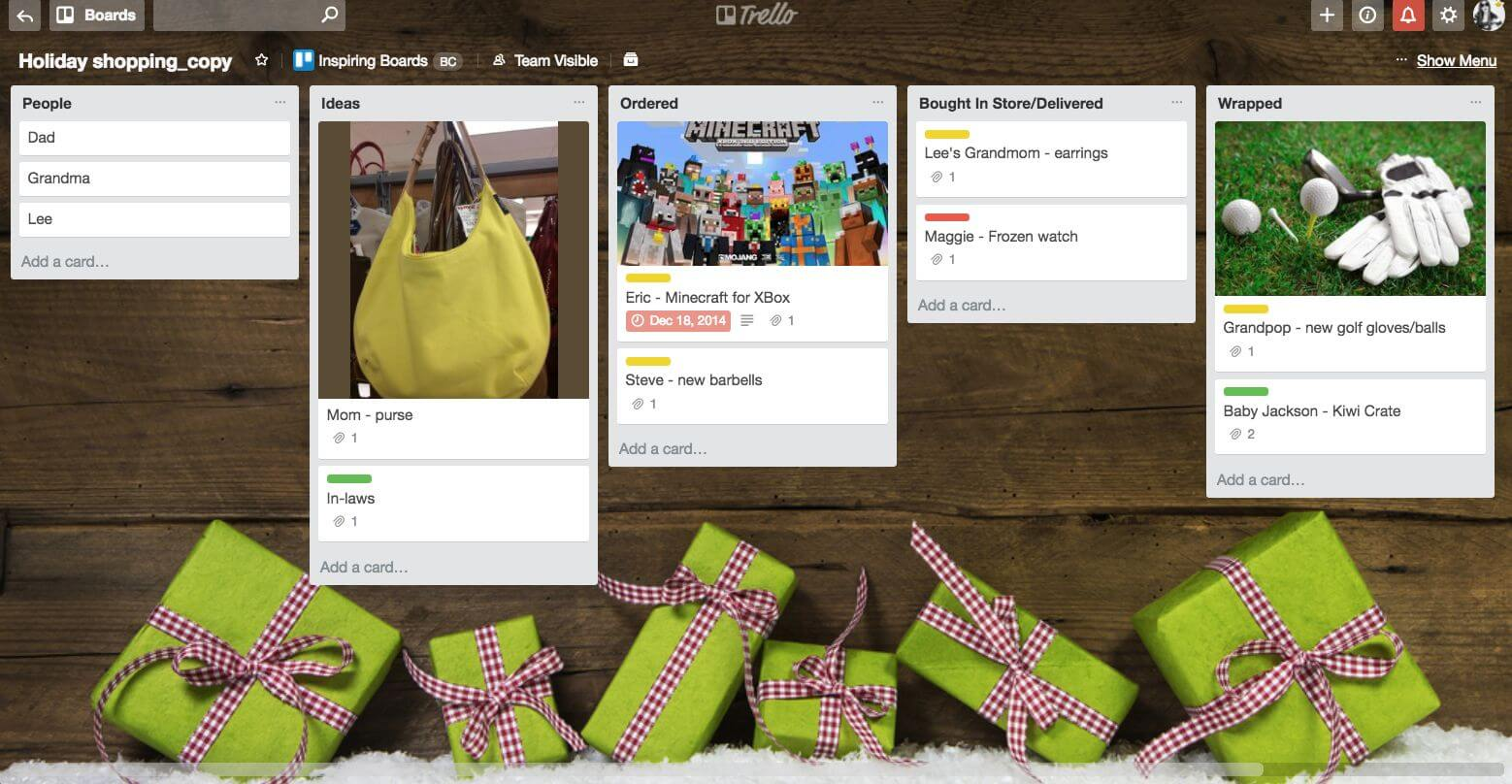 holiday-shopping-trello-board
