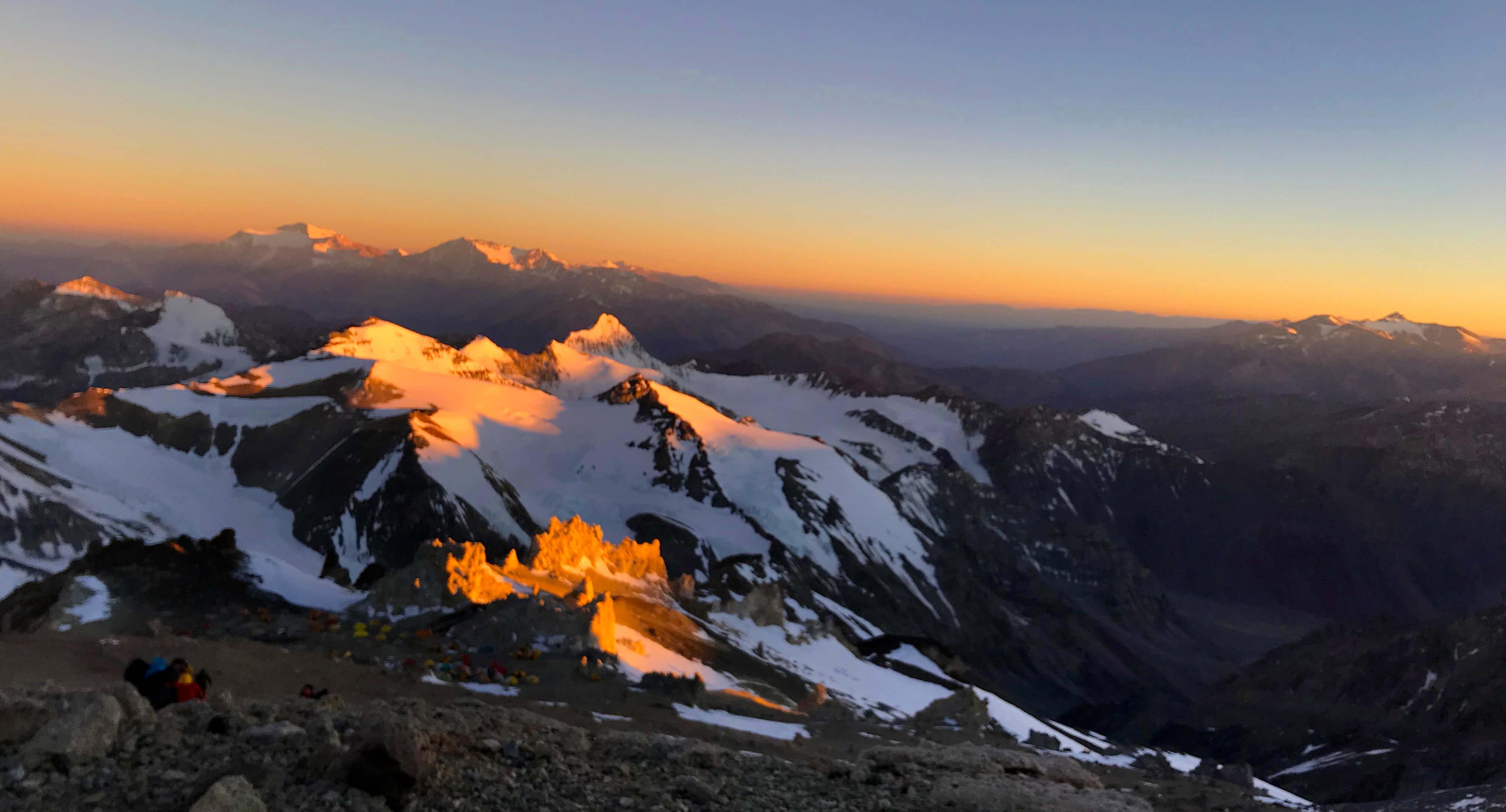 mountain acancagua climb