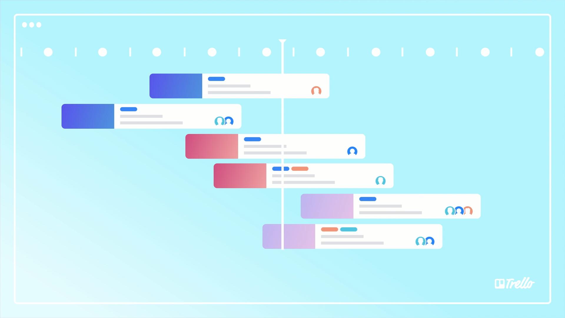 visualização do cronograma