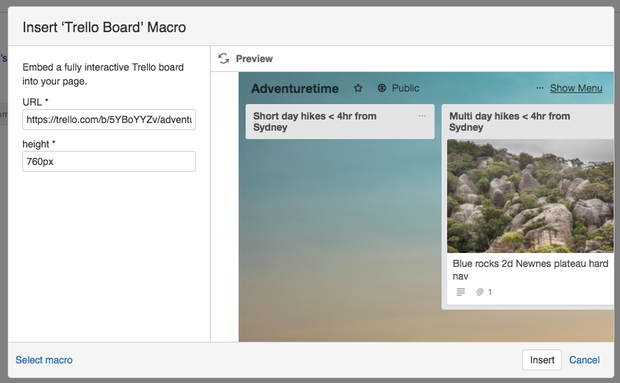 Trello embedded board tutorial