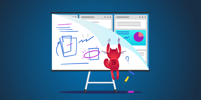 Online whiteboarding for remote teams