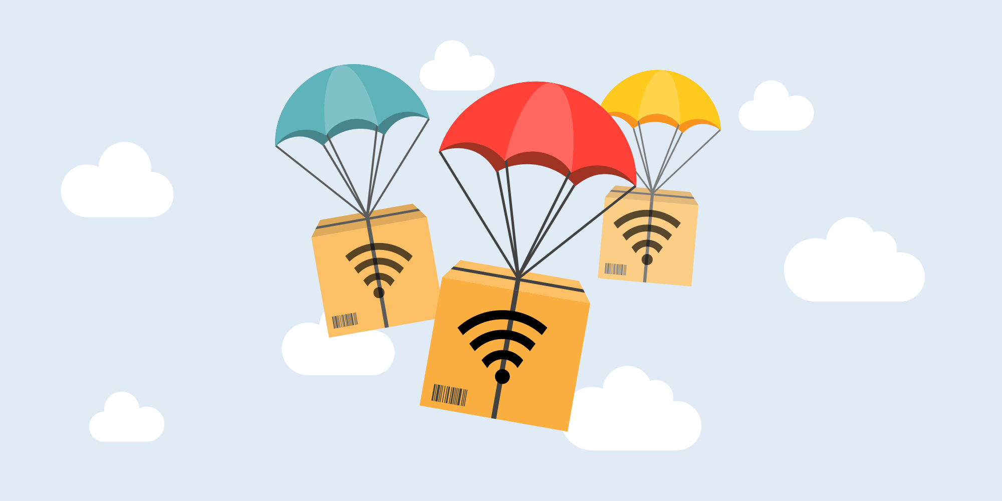 Airplane wifi for business travel productivity