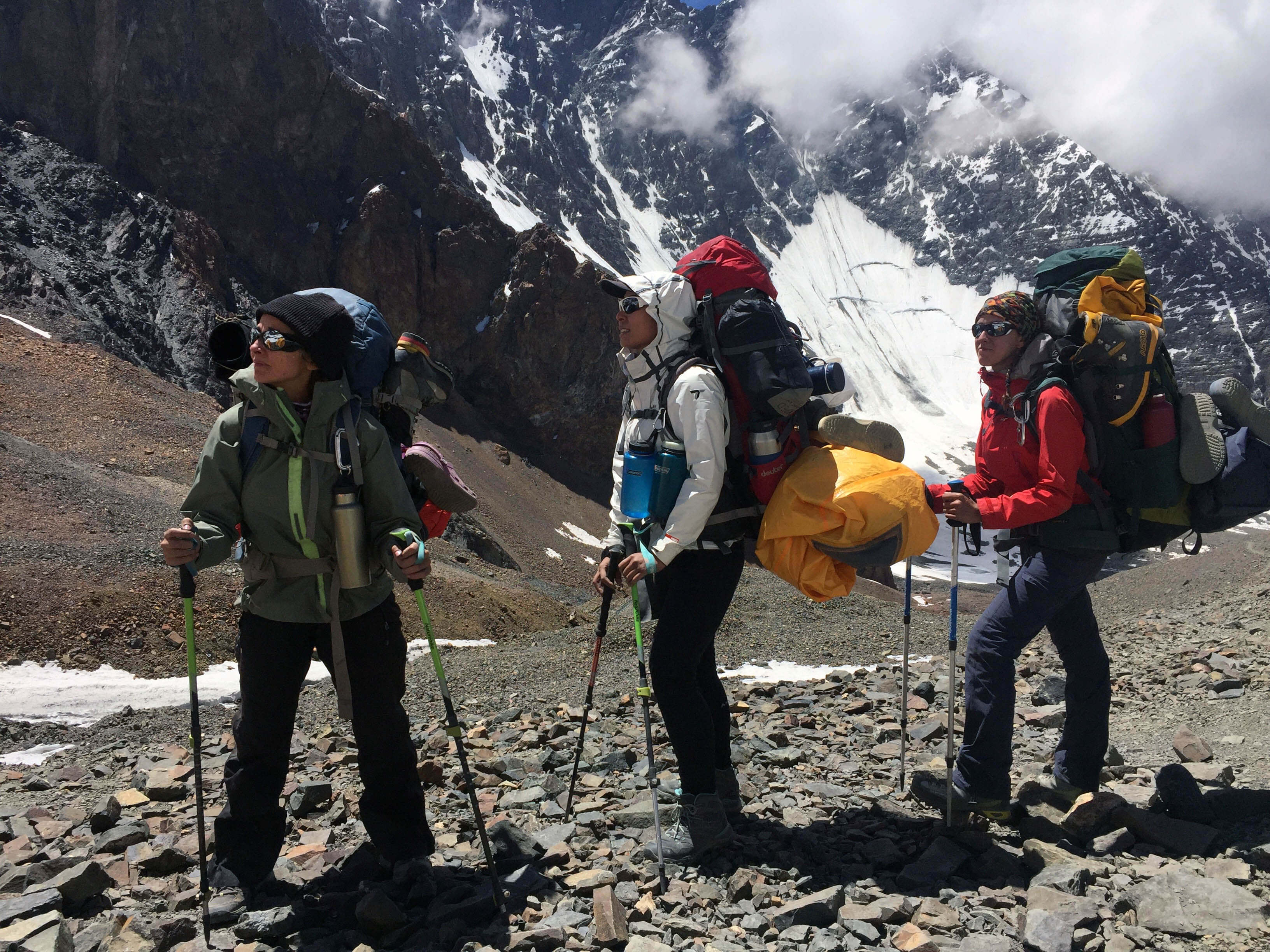 women expedition to develop leadership skills
