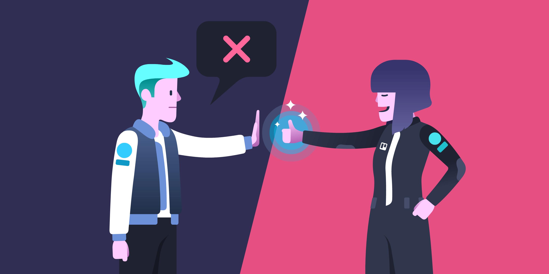 como lidar com a rejeição no trabalho
