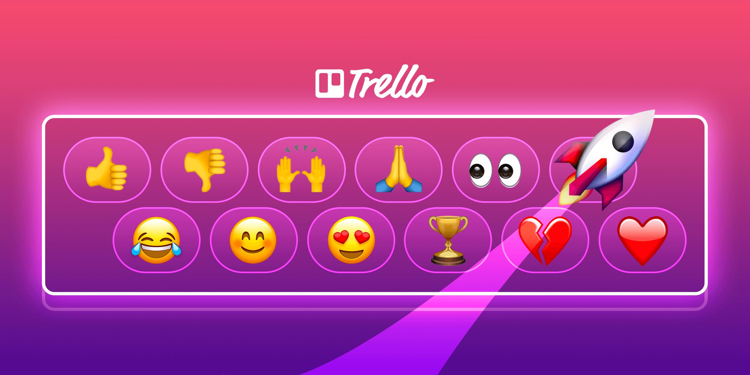 emoji Trello