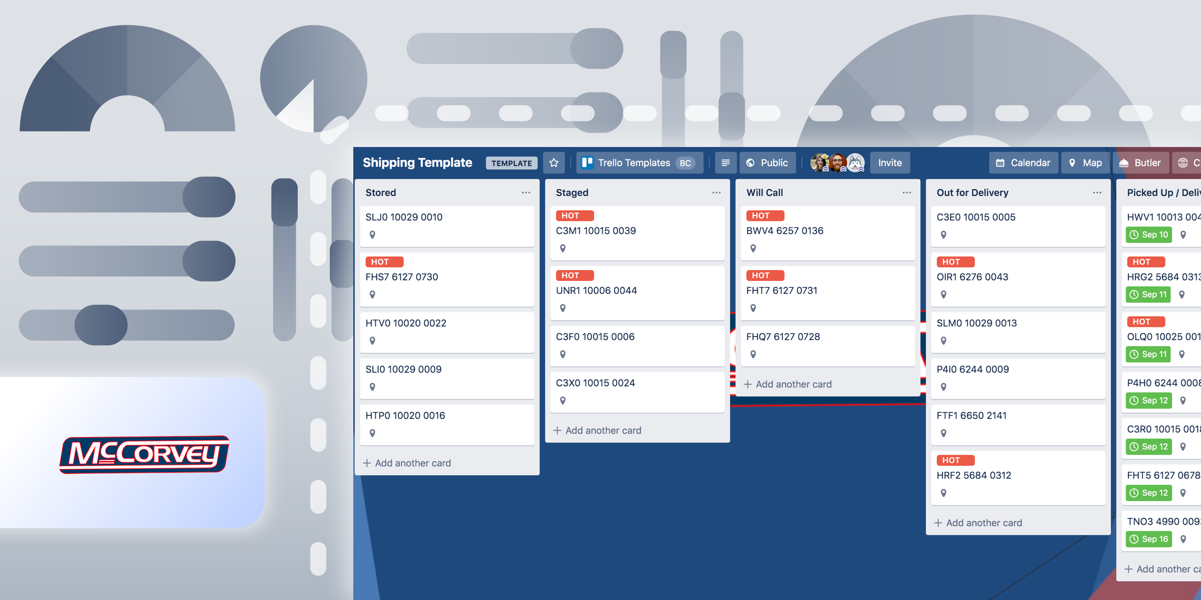 McCorvey Trello board template
