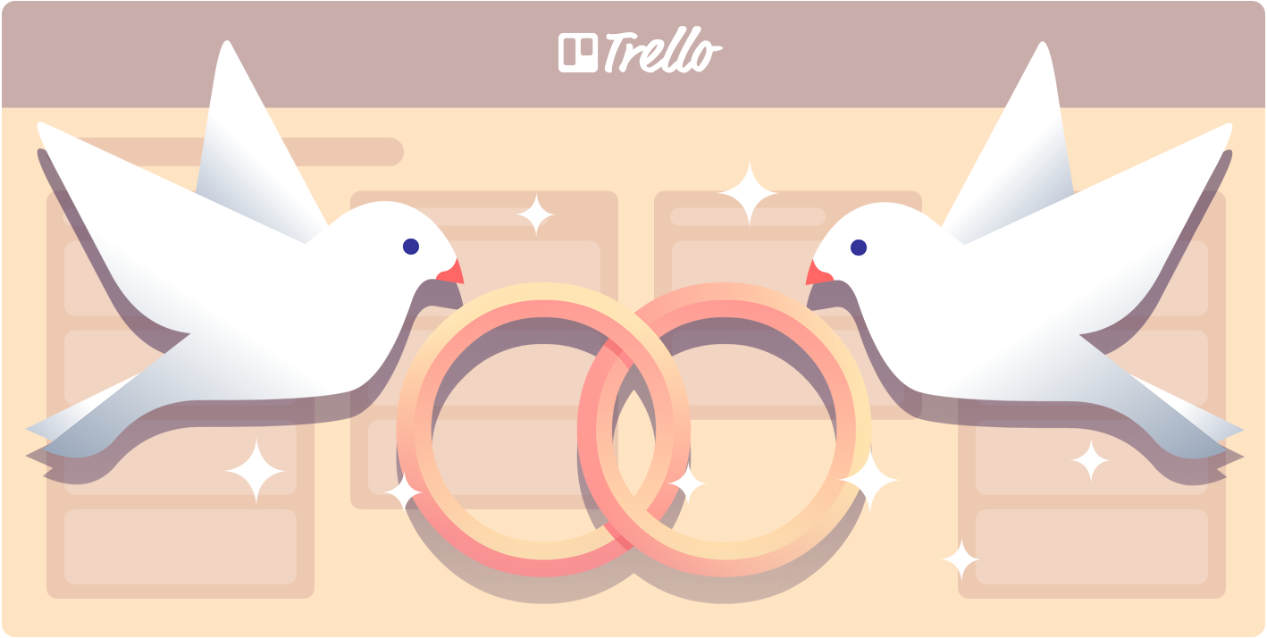 The ultimate guide to planning a wedding with trello trello for wedding planning guide junglespirit Choice Image